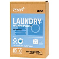 PVA Laundry Washing Powder Sachets (Pack of 50)