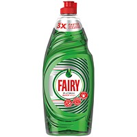 Fairy Platinum Washing Up Liquid, 615ml Bottle
