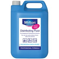 Milton Disinfecting Fluid 5 Litre (The ultimate sterilising fluid) 33613706946626