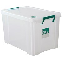 StoreStack Storage Box, Clear, 2.6 Litre
