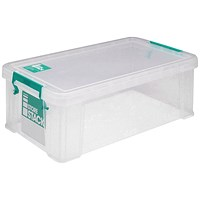 StoreStack Storage Box, Clear, 7.5 Litre