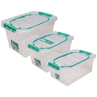StoreStack Carry Box Set of Multiple Sizes (Pack of 3)