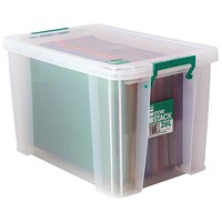 StoreStack Storage Box, Clear, 26 Litre
