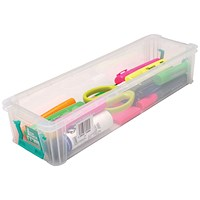 StoreStack Storage Box, Clear, 2.2 Litre