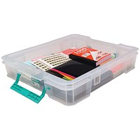 StoreStack Storage Box, Clear, 9 Litre