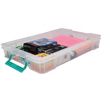 StoreStack Storage Box, Clear, 12 Litre