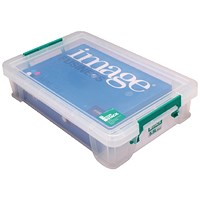 StoreStack Storage Box, Clear, 5.5 Litre