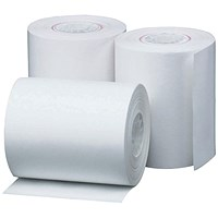Prestige Thermal Paper Roll, 57x30x12.7mm, Pack of 20