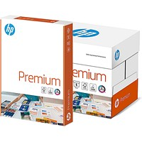 HP Premium A4 Paper White, 80gsm, Box (5 x 500 Sheets)