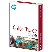 HP A4 Smooth Colour Laser Paper, White, 90gsm, Ream (500 Sheets)
