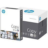 HP A4 White Copy Paper, 80gsm, Box (5 x 500 Sheets)