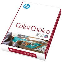HP Color Choice Paper/Card - White, A4, 160gsm, Ream (250 Sheets)