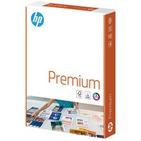 HP A4 Premium Printing Paper, White, 90gsm, Ream (500 Sheets)