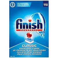Finish Classic Dishwasher Cleaner Regular (Pack of 110)