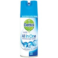 Dettol Antibacterial All-in-One Disinfectant Spray 400ml