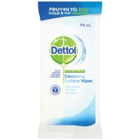 Dettol Surface Cleanser Wipes (Pack of 72) Wipes