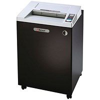 Rexel RLWS35 Wide Entry Strip-Cut Shredder Black/Silver 2103035