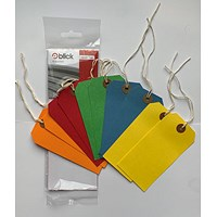 Westdesign Blick Luggage Tag Assorted Colours (Pack of 100) RS218852