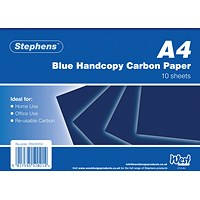 Stephens Blue A4 Hand Carbon Paper (Pack of 100)