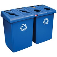 Rubbermaid Recycling Station Blue
