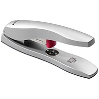 Rexel Odyssey Heavy Duty Die-cast Stapler + 500 Staples, Capacity: 60 Sheets, Silver