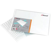 Rexel A3 Nyrex Pockets - Pack of 10