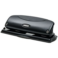 Rexel Precision P425 4 Hole Punch Black