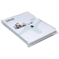 Rexel Nyrex Expanding Folders A4 Clear (Pack of 10)