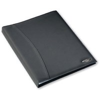 Rexel Soft Touch Smooth Display Book 36 Pocket A4 Black