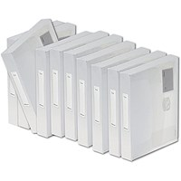 Rexel Ice Document Box PP 40mm A4 Clear (Pack of 10)