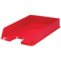 Rexel Choices Letter Tray A4 Red