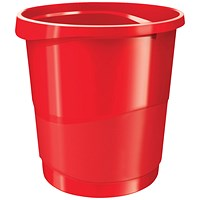 Rexel Choices Waste Bin Red