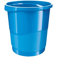 Rexel Choices Waste Bin Blue