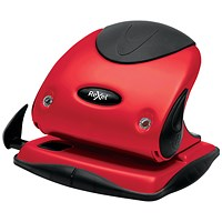 Rexel Choices P225 Hole Punch Red