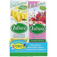 Zoflora 3-in-1 Concentrated Disinfectant 250ml (Pack of 8)