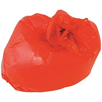 2Work Medium Duty Refuse Sack Red (Pack of 200)