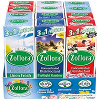 Zoflora 3-in-1 Concentrated Disinfectant 120ml (Pack of 12)