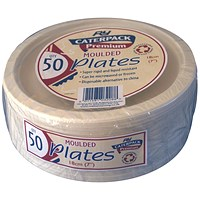 Super Rigid 7 Inch Biodegradable Plate (Pack of 50)
