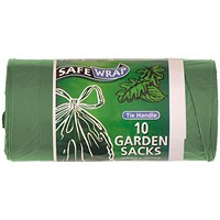 Safewrap Tie Handle Garden Refuse Sack (Pack of 40)