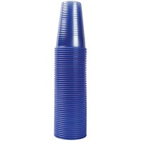 MyCafe Plastic Cups 7oz Blue (Pack of 1000) DVPPBLCU01000V