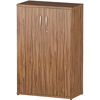 Impulse Medium Cupboard - Walnut
