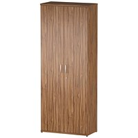 Impulse Tall Cupboard - Walnut