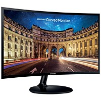 Samsung C27F390 27in LED Monitor Curved Full HD
