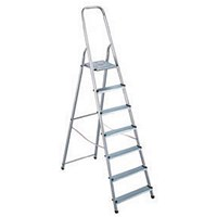 Aluminium Step Ladder 7 Step (Platform sits 1450mm Above the Floor) 358741