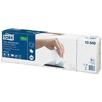 Tork Xpressnap 1-Ply Napkins 4 Fold White (Pack of 1125)