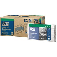 Tork W4 Cleaning Cloth White 100 Sheets (Pack of 5) 530178