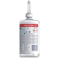 Tork Alcohol Hand Sanitiser Cartridge 1L (Pack of 6) 910103