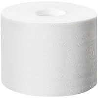 Tork Coreless Toilet Roll, 2-Ply, White, 36 Rolls of 900 Sheets