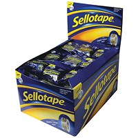Sellotape Super Clear Tape 18mmx10m (Pack of 50)