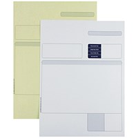 Sage Compatible A4 Multipurpose Form, 2 Part, White & Yellow, Laser or Inkjet, Pack of 500